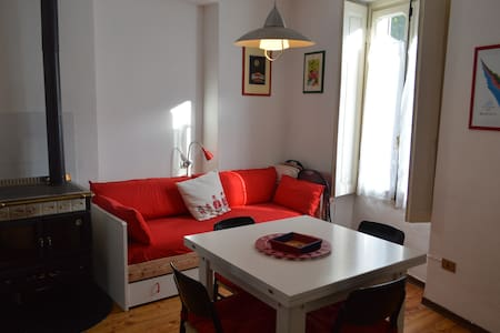 cozy apartment in the center of Cesana Torinese - Cesana Torinese - Квартира