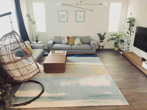scandinavian inspired home