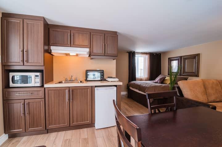 Magnifique loft avec cuisinette 4 place Justin B