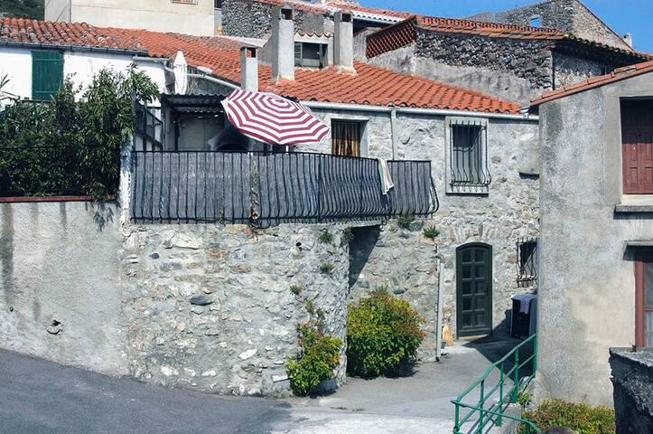 Byhus, maison de village, nær Perpignan - Trévillach - Casa