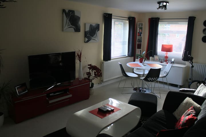 Fully furnished flat close to city - Milton Keynes  - Apartemen