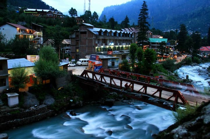 Triple Sharing Cozy Room with View in Old Manali