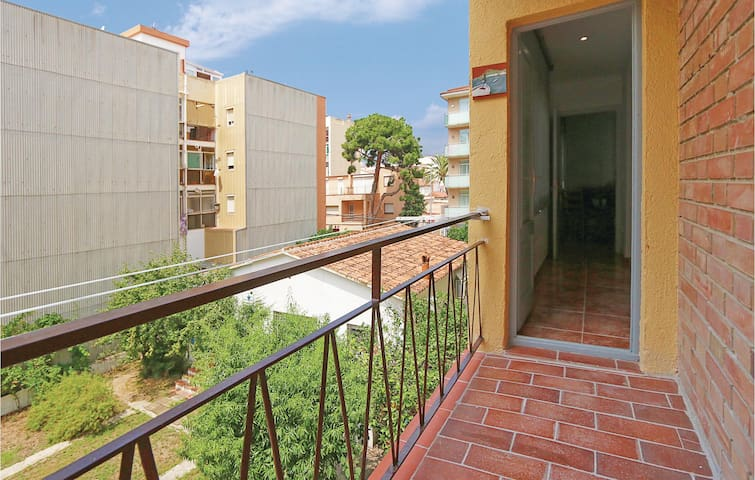 Holiday apartment with 1 bedroom on 35m² in Pineda de Mar