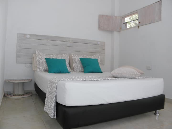 Nice private room near to the beach, casa mandala