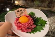 营业到深夜12点的日本最高级別和牛烤肉店。最晚11点点餐。超级方便我们的游客。不用去拥挤的景点打卡了,你所在就是最新网红打卡处