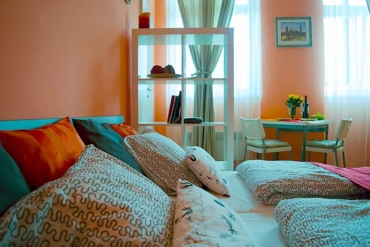 Studio Prague 5 min city center3 - Prague - Apartment