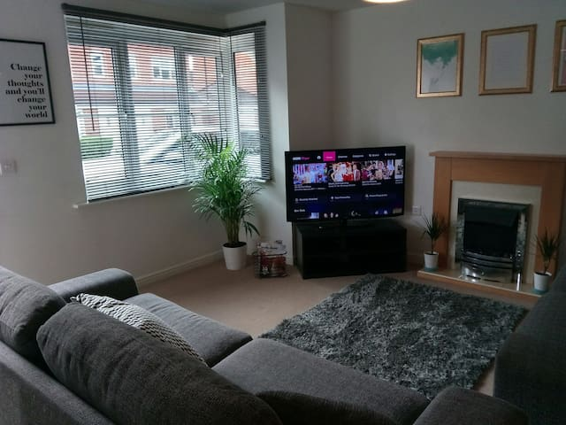 ** Stylish, clean and modern apartment **