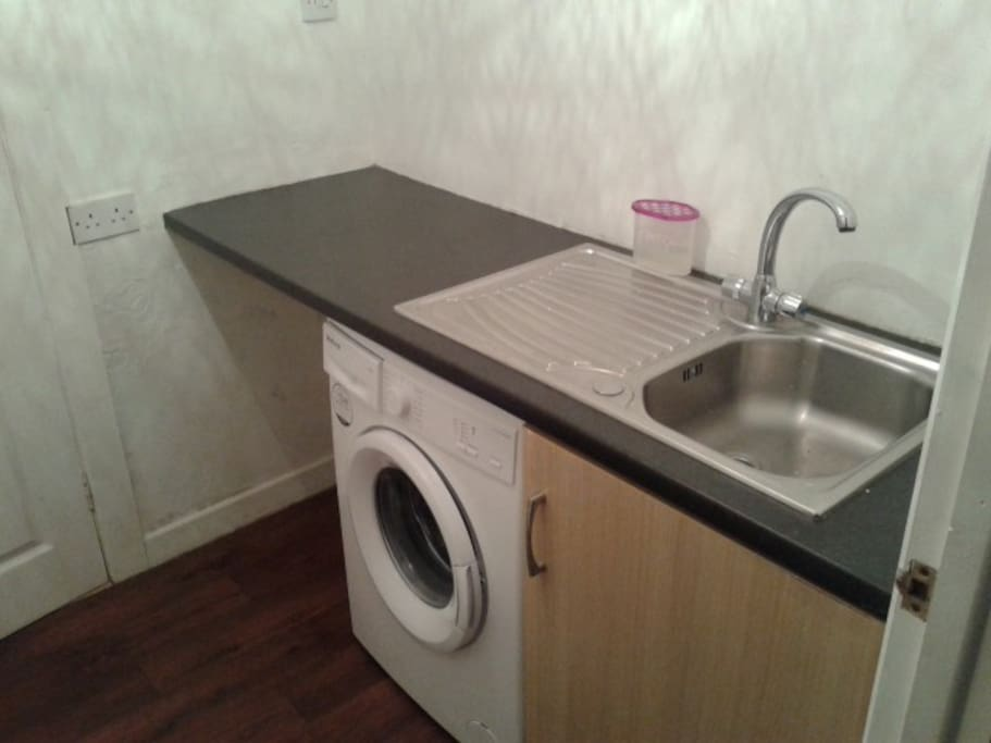Utility and washing room