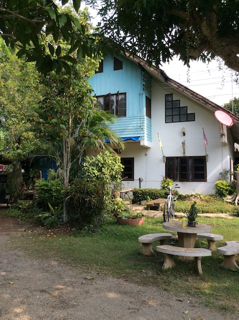 Authentic Thai house