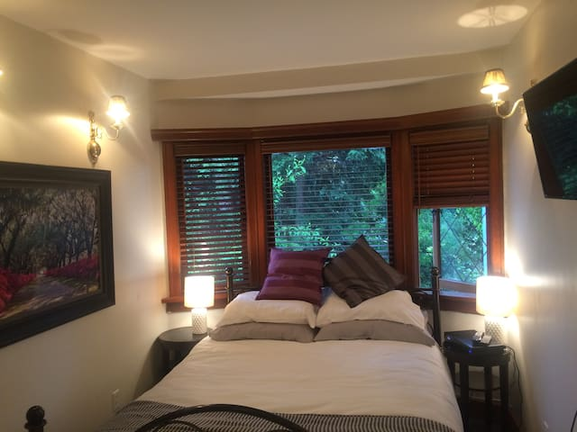 Quaint private Kitsilano Bedroom & Bathroom suite!