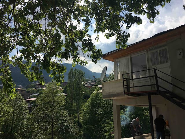 Eşsiz doğa manzaralı aile için huzurlu kır evi 2+1