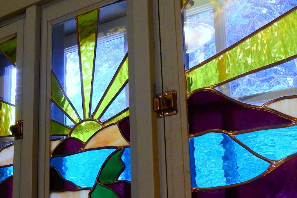 Beautiful Handmade Stained Glass in Your Room