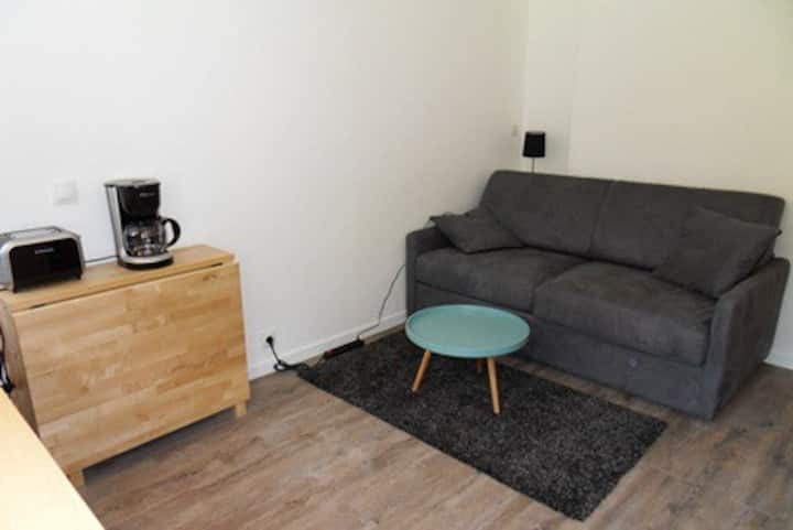 Very nice apartment on the slopes for 2 people of 15 m²