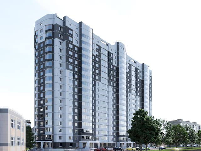 Отличная квартира с чудесным видом - Ковров - Apartamento