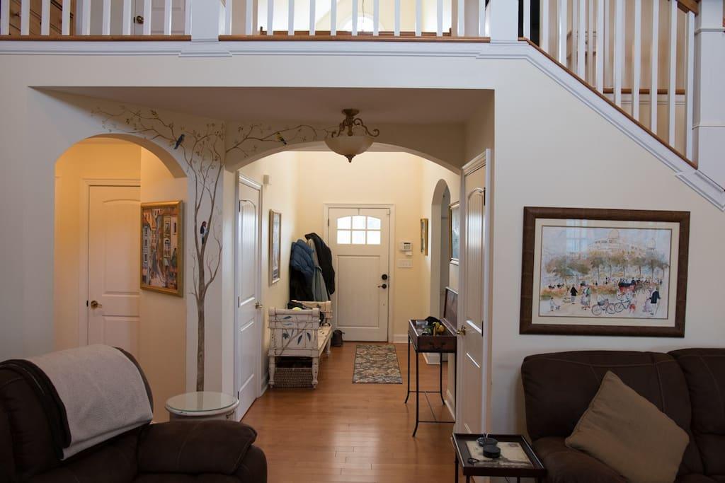Front Entrance & Hallway