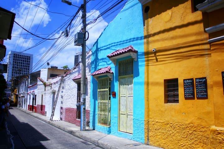 Casa Anita~stay inside the Historical Cartagena!