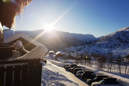 Mountain view apartment 2 - sunny side of Røldal
