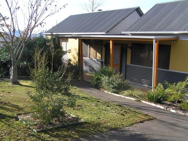 Adjoining villas (1 bedroom villa on right - 2 bedroom villa available on a separate listing)