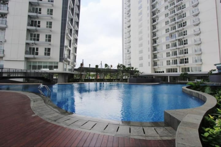 1 BR Comfy Apartment in BSD