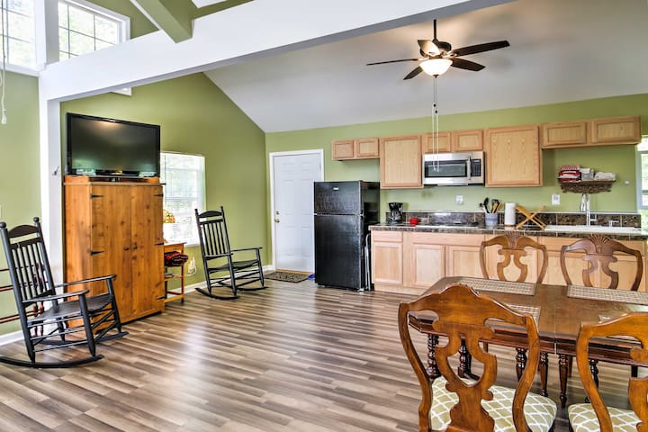 You'll love the open layout of the living space.