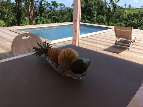 Kaz a Fifite bungalow avec piscine privative