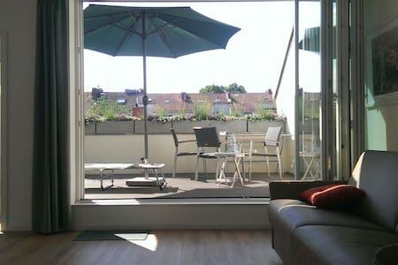 Helles Apartment mit Dachterrasse - Bremen