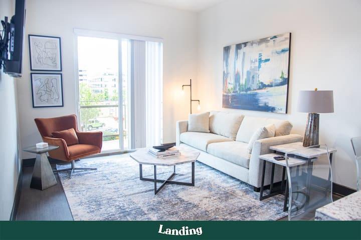 Landing | Stunning 1BR Birmingham Apartment!
