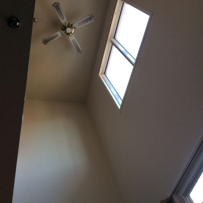 High ceilings 20 ft