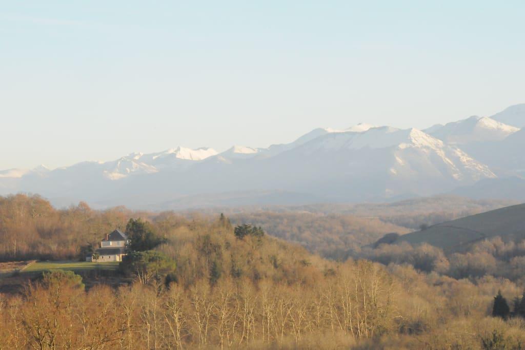 calme de la montagne ...