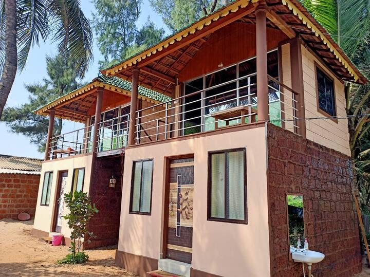 Ocean Breeze cottage Gokarna