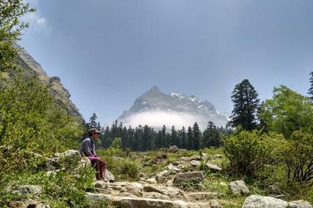 Har Ki Doon Camping Himalayan Cafe with all Meals
