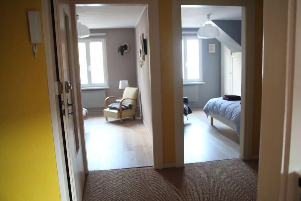les 2 chambres