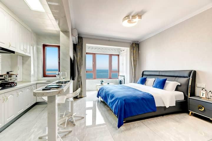 澜庭温馨一居公寓 一百米海滩