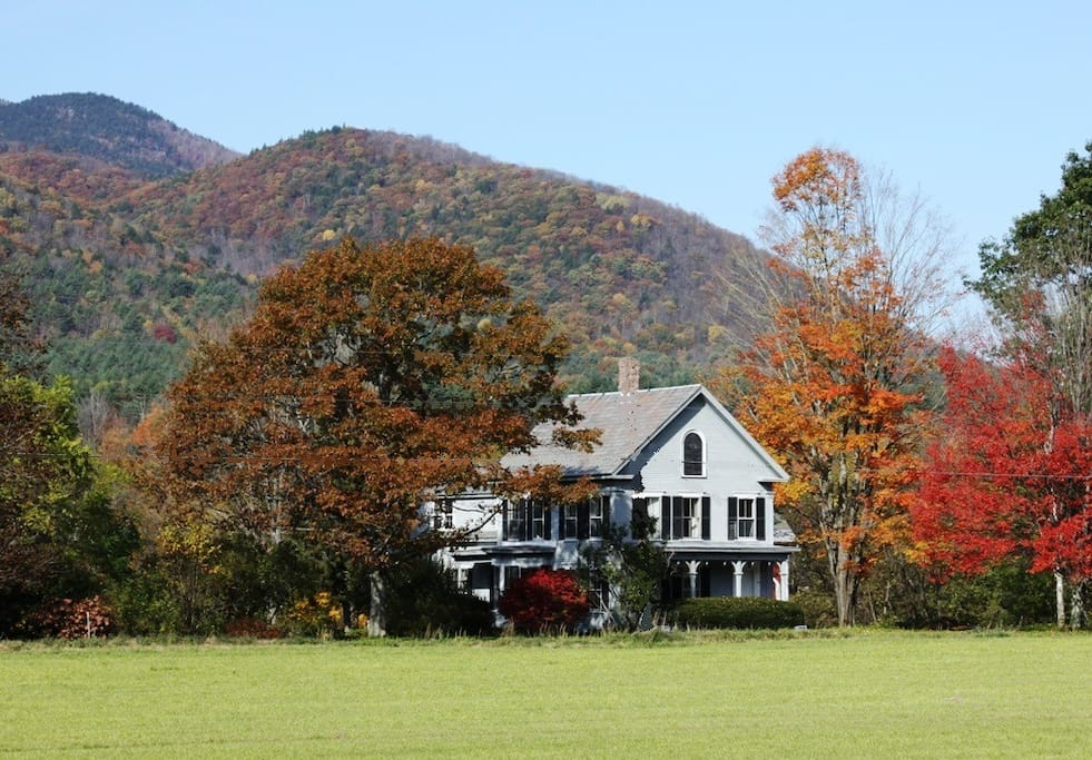 North Star House in autumn