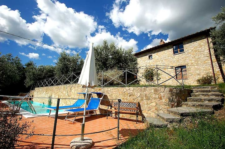 Villa Bellavista, detached house with private pool - Montecchio - Casa