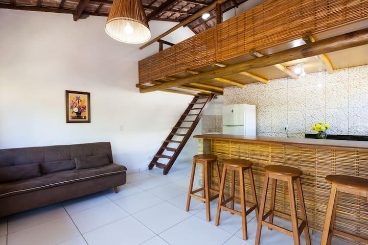 Apto 2/4 condomínio fechado praia Jaua, Bahia - Salvador - Apartmen