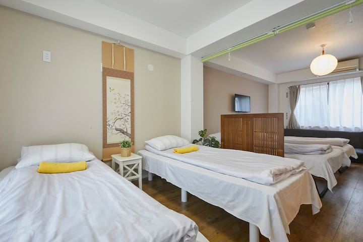 3 minutes from Yamanote line Tabata free WIFI