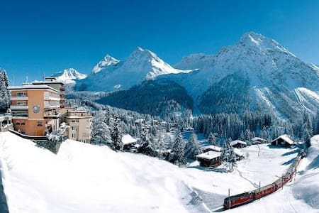 Lovely Appt. in center Arosa with stunning view! - Arosa