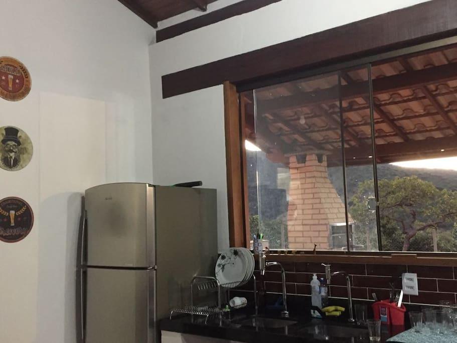 Detalhe da cozinha