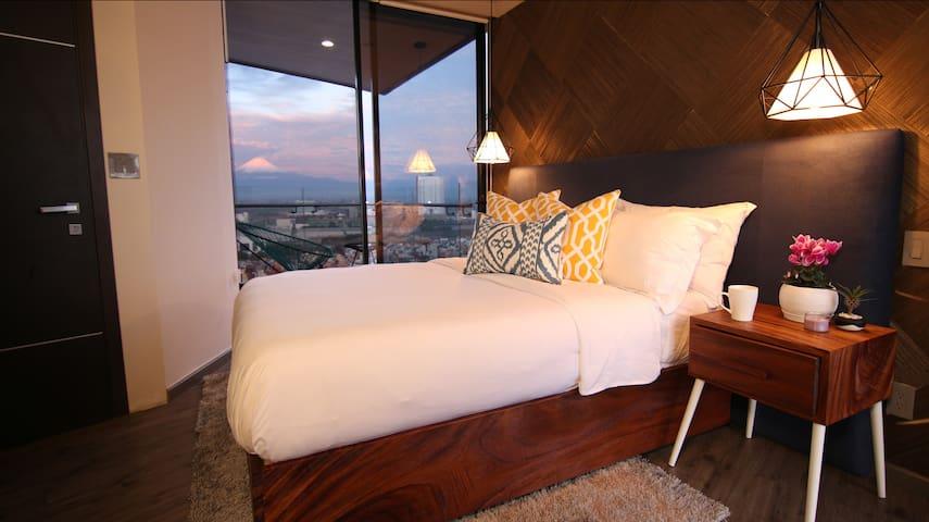 ELEGANCE. VIEWS. SPA. - PUEBLA LUXURY APARTMENT - Heroica Puebla de Zaragoza - Apartment