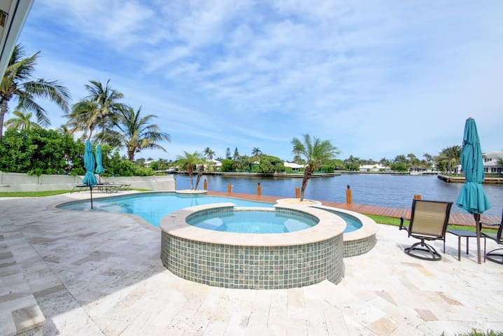 Delray Beach Waterfront Home