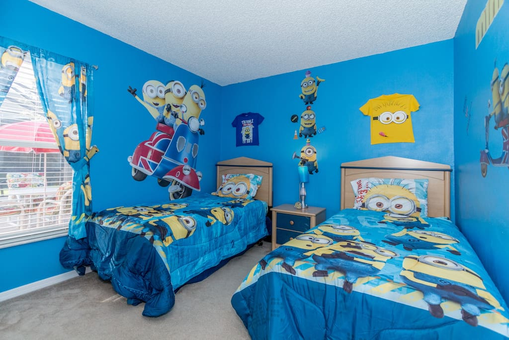 Newly Decorated Minions Themed Bedroom