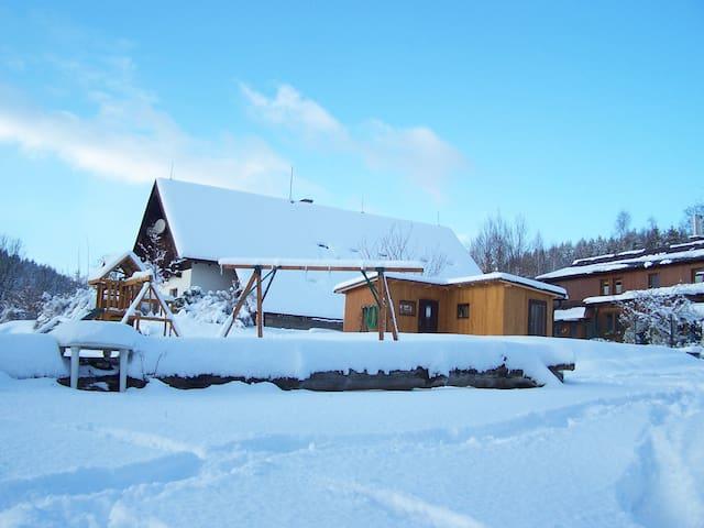 Farma Vyšehrad, ubytování 8 - 16 lůžek