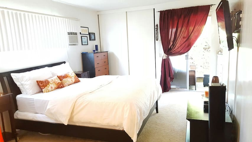 Charming private master bedroom with kitchenette! - Los Angeles - Appartement