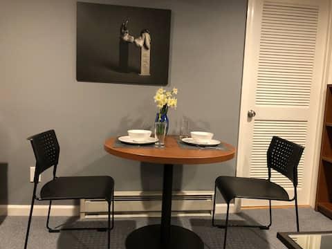 Apartamento tranquilo e aconchegante em Arlington