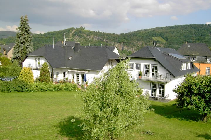 Well-maintained holiday home on a vineyard, close to the town centre