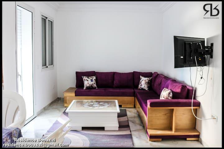 Résidence Bouazizi - Appart N°5 (S+2) - Ghar al Milh - Lejlighed