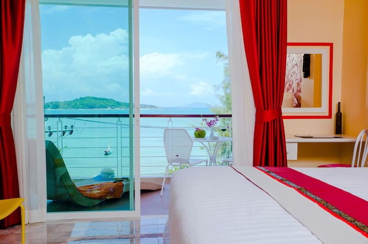 Charming Sea View Studio on Rawai Beach³