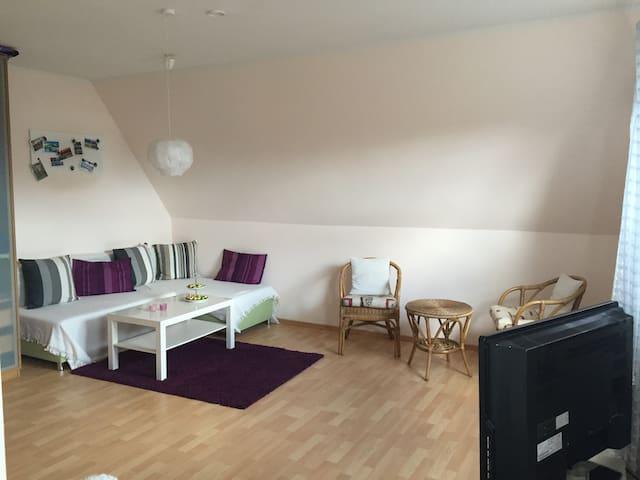 Gemütliches Apartment zum Wohlfühlen - Kropp - Apartamento