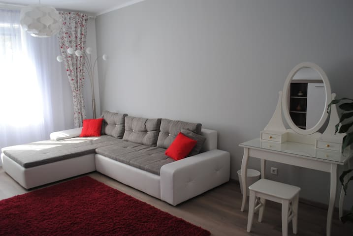 Sunny and elegant apartament in central location